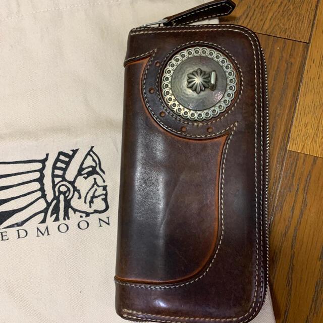 REDMOON(レッドムーン)のレッドムーンジッピーウォレット メンズのファッション小物(長財布)の商品写真