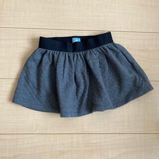ベビーギャップ(babyGAP)の【美品】babyGap☺︎80 濃グレ スカート 12-18(スカート)
