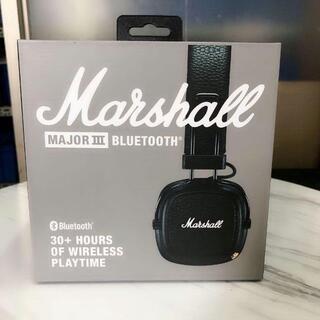 Marshall MAJOR Ⅲ BLUETOOTH ワイヤレス/ブラック