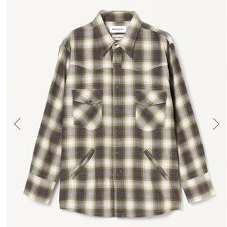 MIYAGI HIDETAKA x FORSOMEONE チェックシャツ