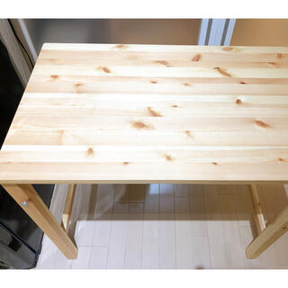 MUJI (無印良品) - 《美品》 無印良品 折り畳み テーブル