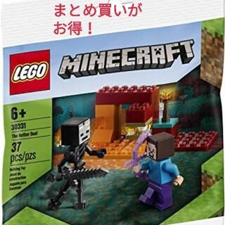Lego - レゴ ポリバッグ 30331 マインクラフト スティーブとウィザースケルトン