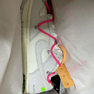 OFF-WHITE - OFF-WHITE × NIKE DUNK LOW 1 OF 50 ナイキダンク