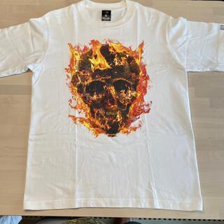 ナイトレイド(nitraid)の【超美品!!】NITRAID FIRE SCULL Tシャツ(Tシャツ/カットソー(半袖/袖なし))