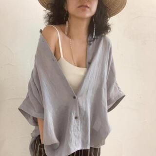 シールームリン(SeaRoomlynn)のドルマンハーフスリーブシャツ(シャツ/ブラウス(半袖/袖なし))