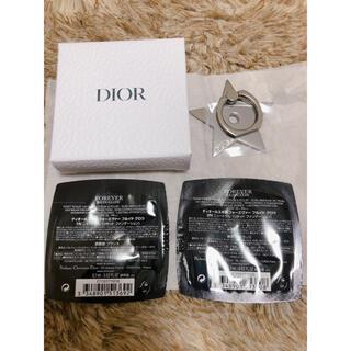 Christian Dior - Dior スマホリング(非売品)(ファンデサンプル付)