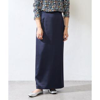 IENA - SHENERY(シーナリー)  サテンタイトマキシスカート