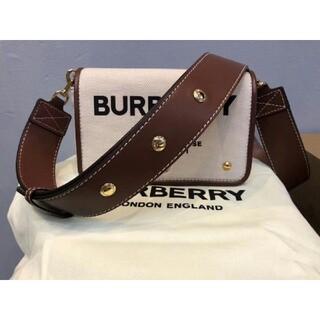 BURBERRY - BURBERRY スモール ホースフェリー クロスボディバッグ