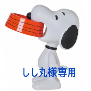 メディコムトイ(MEDICOM TOY)のVCD SNOOPY w/Food Bowl  スヌーピー(アニメ/ゲーム)