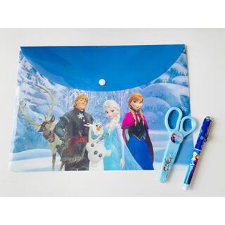 アナと雪の女王 - アナと雪の女王 ファイル&ボールペン&ハサミ