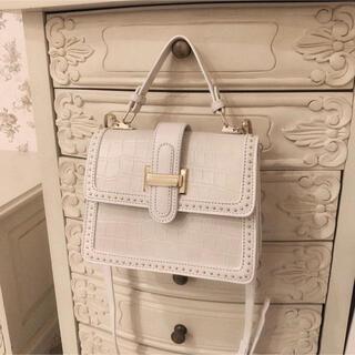 ロキエ(Lochie)の新品*croco studs bag(ショルダーバッグ)