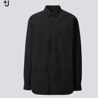 UNIQLO - ユニクロ +J  スーピマコットンオーバーサイズシャツ