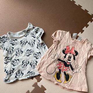 エイチアンドエム(H&M)のミニーちゃん Tシャツ 2枚セット(Tシャツ)
