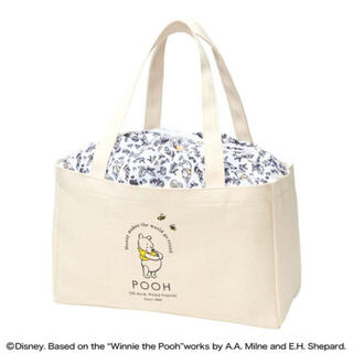 Disney - ステディ.  付録 くまのプーさんデザイン 巾着カバー付き 収納バッグ