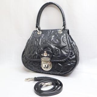 Vivienne Westwood - 【美品】ヴィヴィアンウエストウッド ショルダーバッグ ハンドバッグ 2way 黒