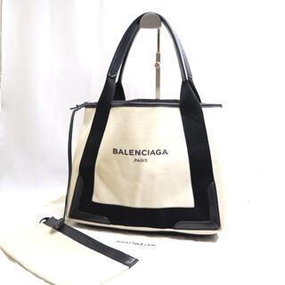 Balenciaga - BALENCIAGA バレンシアガ トートバッグ ネイビーカバ Sサイズ