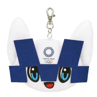 バンダイ(BANDAI)の新品可愛い東京2020オリンピックマスコットミライトワ定期券カードパスケース(ぬいぐるみ)