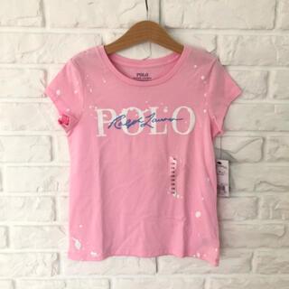 ポロラルフローレン(POLO RALPH LAUREN)の新品 ラルフローレン  Tシャツ ピンク 130(Tシャツ/カットソー)