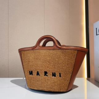 Marni - 未使用▼マルニ MARNI ラフィア カゴバッグ マイクロ