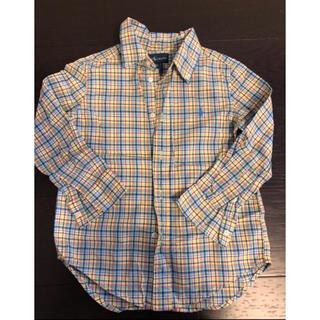 ポロラルフローレン(POLO RALPH LAUREN)の美品ラルフ4Tチェックシャツ(ブラウス)
