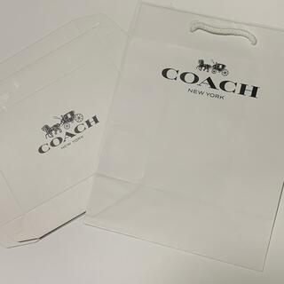 コーチ(COACH)のコーチ ショップ袋 二つ折り財布用 ギフトボックス(ショップ袋)