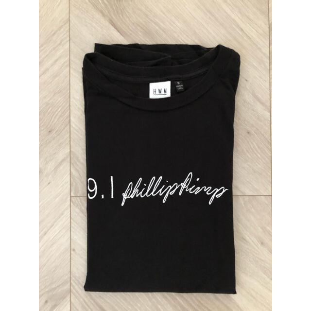 HOLLYWOOD MADE(ハリウッドメイド)のHOLLYWOOD MADE ハリウッドメイド Tシャツ M 黒 パロディT メンズのトップス(Tシャツ/カットソー(半袖/袖なし))の商品写真