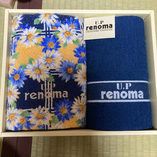 RENOMA - レノマ フェイスタオル2枚セット