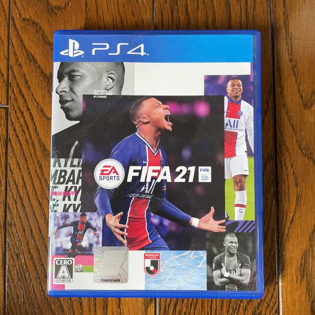 PlayStation4(プレイステーション4)のFIFA 21 PS4 エンタメ/ホビーのゲームソフト/ゲーム機本体(家庭用ゲームソフト)の商品写真