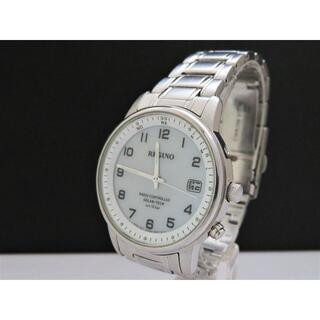CITIZEN - CITIZEN REGUNO 電波ソーラー腕時計 H415 白文字盤