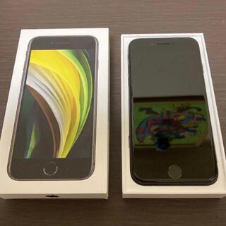 iPhone - 【美品】iPhone SE 第2世代 64GB SIMフリー ブラック