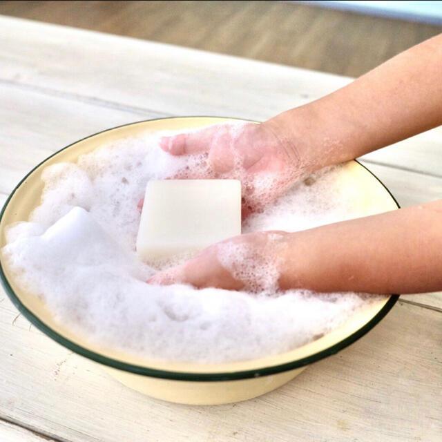 お肌と地球に優しい オーガニック洗顔石鹸 コスメ/美容のスキンケア/基礎化粧品(洗顔料)の商品写真