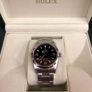 ROLEX - エクスプローラー Ⅰ 114270 V番 ルーレット刻印 超美品 付属品完備