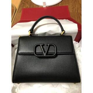 VALENTINO - Vスリング グレインカーフスキン スモール ハンドバッグ