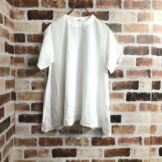 Mila Owen - 【Mila Owen】コットン混Aライン薄手ゆったりシャツ