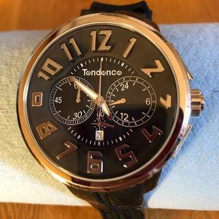 テンデンス(Tendence)のテンデンス 腕時計 ブラック(中古)(腕時計)