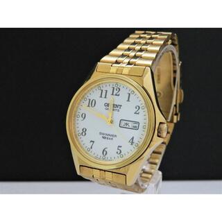 ORIENT - ORIENT SWIMMER 腕時計 デイデイト ゴールド 100m
