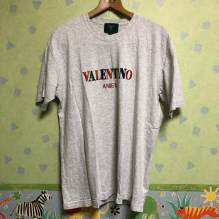 ヴァレンティノ(VALENTINO)のバレンチノ ANIES Tシャツ グレイ コーチ プラダ ナイキ アディダス 系(Tシャツ/カットソー(半袖/袖なし))