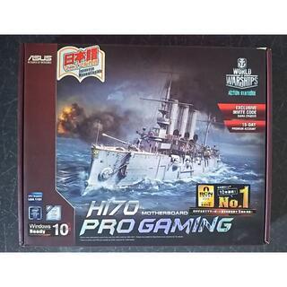 エイスース(ASUS)のASUS H170 PRO GAMING BIOSまで確認済み(PCパーツ)