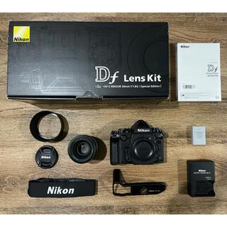 Nikon - 7%クーポン期間限定! Nikon Df  50mm f1.8レンズキット