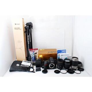 ニコン(Nikon)の1232 安心ダブル保証 ニコン Nikon D810 レンズ3本 オマケ多数(デジタル一眼)