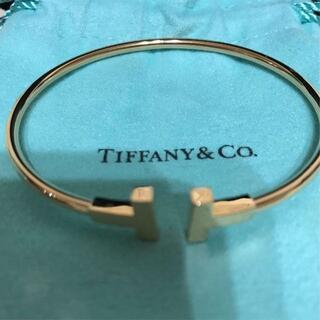 Tiffany & Co. - Tiffany ティファニー T ワイヤー ブレスレット バングル