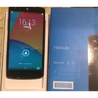 アンドロイド(ANDROID)の【新品同等】Google Nexus 5 LG-D821 32GB ブラック(スマートフォン本体)