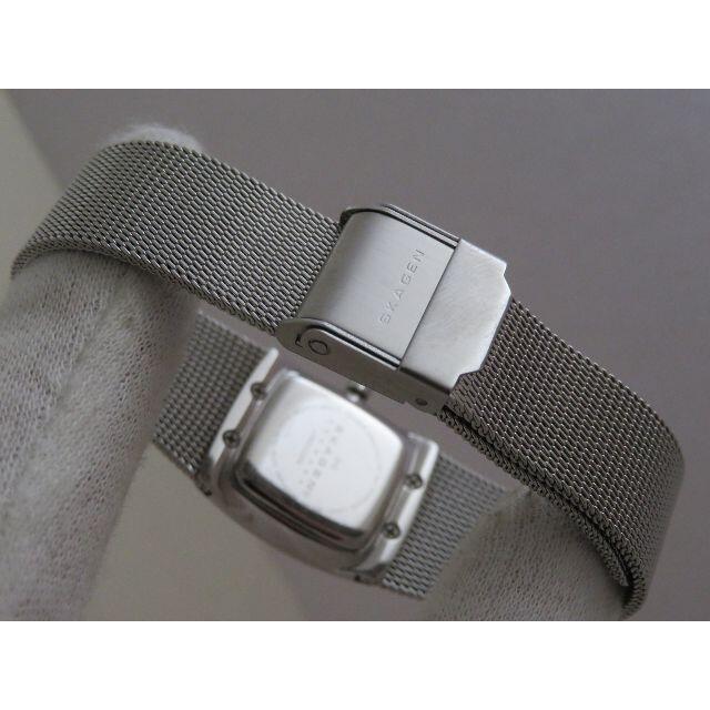 SKAGEN(スカーゲン)のSKAGEN STEEL 腕時計 メッシュベルト ブルー文字盤 レディースのファッション小物(腕時計)の商品写真