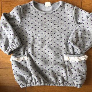 ムージョンジョン(mou jon jon)の裏起毛トップス(Tシャツ/カットソー)