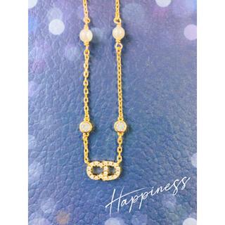 Dior - ディオール☆シンプル☆ネックレス
