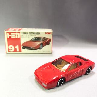 トミー(TOMMY)のトミカ  赤箱 フェラーリ テスタロッサ(ミニカー)
