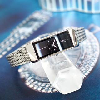 サンローラン(Saint Laurent)の美品・全純正 イヴサンローラン クォーツ 時計✴︎エルメス グッチ ティファニー(腕時計)