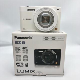 Panasonic - パナソニック デジタルカメラ ルミックス ホワイト DMC-SZ8-W
