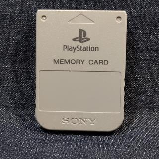 プレイステーション(PlayStation)のAX03 PS1メモリーカード1個 ソニー純正 即購入歓迎 動作確認初期化済(家庭用ゲーム機本体)