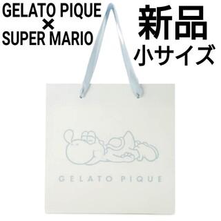 gelato pique - 新品 ジェラートピケ×スーパーマリオコラボ ショッパー ショップバッグ 紙袋 小